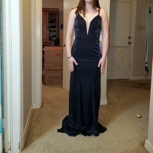 Long black formal